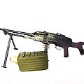 Russian Pkm General-purpose Machine Gun by Andrew Chittock