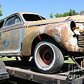 Rusty 1941 Chevrolet . 5D16211 Print by Wingsdomain Art and Photography