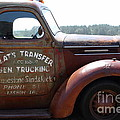 Rusty Old 1935 International Truck . 7d15496 by Wingsdomain Art and Photography