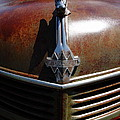 Rusty Old 1935 International Truck Hood Ornament. 7d15503 by Wingsdomain Art and Photography
