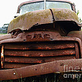 Rusty Old Gmc Truck . 7d8396 by Wingsdomain Art and Photography