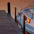 Sailboat Sunrise by Steven Ainsworth