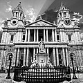 Saint Paul's Cathedral Poster by Meirion Matthias