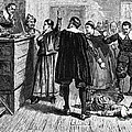 Salem Witch Trials, 1692-93 by Photo Researchers