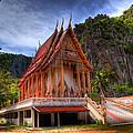 Sam Roi Yot Temple by Adrian Evans
