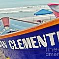 San Clemente Dory Boat by Traci Lehman