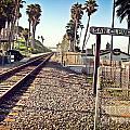 San Clemente Train Tracks by Traci Lehman