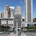 San Francisco - Union Square - 5d17941 by Wingsdomain Art and Photography