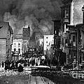 San Francisco Burning After 1906 by Science Source