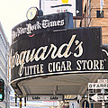 San Francisco Marquard's Little Cigar Store On Powell And O'farrell Streets - 5d17954 - Painterly by Wingsdomain Art and Photography