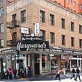 San Francisco Marquards Little Cigar Store On Powell Street - 5d17950 - Painterly by Wingsdomain Art and Photography