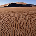 Sand Dunes Against Clear Sky by Axiom Photographic