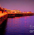 Santa Cruz Wharf by Garnett  Jaeger
