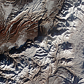 Satellite Image Of Russias Kizimen by Stocktrek Images