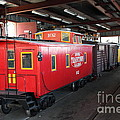 Scale Caboose - Traintown Sonoma California - 5d19240 by Wingsdomain Art and Photography