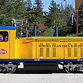 Scale Locomotive - Traintown Sonoma California - 5d19237 by Wingsdomain Art and Photography