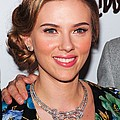 Scarlett Johansson Wearing Van Cleef & by Everett