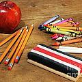 School Supplies  by Sandra Cunningham