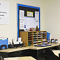 School Teachers Desk by Skip Nall