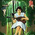 Secret Garden Fantasy Fairy by Linda Apple