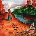 Sedona Arizona Spiritual Vortex Zen Encounter by Sharon Mick