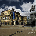 Semper Opera House Dresden - A Beautiful Sight by Christine Till