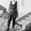 Serbian Man Wearing Hat, Vest, Belted by Everett