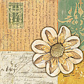Shabby Chic Floral 2 by Debbie DeWitt