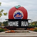 Shea Stadium Home Run Apple by Rob Hans