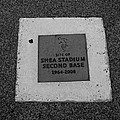 Shea Stadium Second Base by Rob Hans