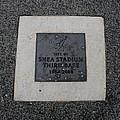 Shea Stadium Third Base by Rob Hans