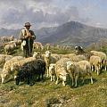 Shepherd Of The Pyrenees by Rosa Bonheur