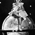 Shirley Temple, Fox Film Portrait, Ca by Everett