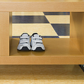 Shoes In A Shelving Unit by Andersen Ross
