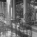 Sidewalk Cafe - Afternoon Shadows by Suzanne Gaff