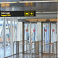 Sign Leading To Baggage Claim by Jaak Nilson