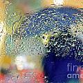 Silhouette In The Rain by Carlos Caetano