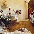 Silks And Satins by Albert Chevallier Tayler