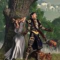 Sir Justinus The Singing Knight by Daniel Eskridge