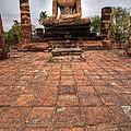 Sitting Buddha by Adrian Evans