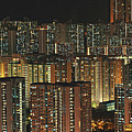 Skyline At Night by Ryan Cheng Photography