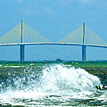 Skyway Splash by David Lee Thompson