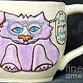 Smart Kitty Mug by Joyce Jackson