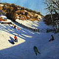Snow In The Valley by Andrew Macara