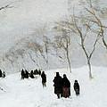 Snow Storm by Anton Mauve