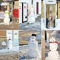 Snowmen Antics. by Kelly Nelson