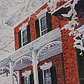 Snowy Yesteryear by Patsy Sharpe