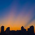 São Paulo City Dawning by Flavio Coelho