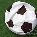Soccer Ball Seat Cushion by Matthias Hauser