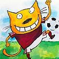 Soccer Cat 2 by Scott Nelson